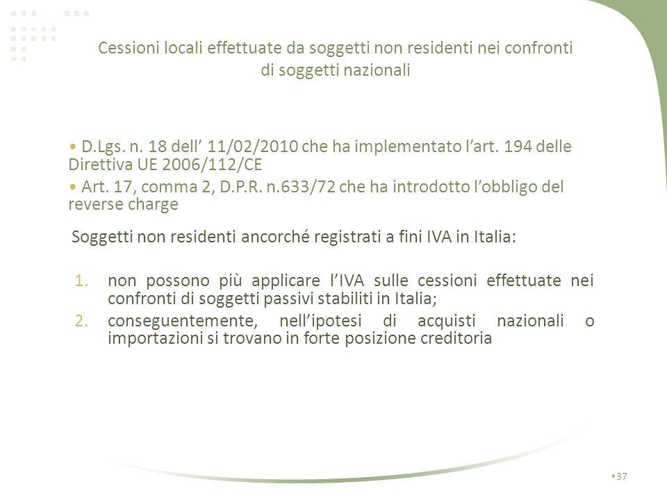 Esempio fatturazione con deposito IVA Soc. A Srl Via Roma, 1 10100 Torino C.F. e P. IVA…. Soc. C S.a. Francia Tva: FR…… Torino,lì Fattura n….. del…..