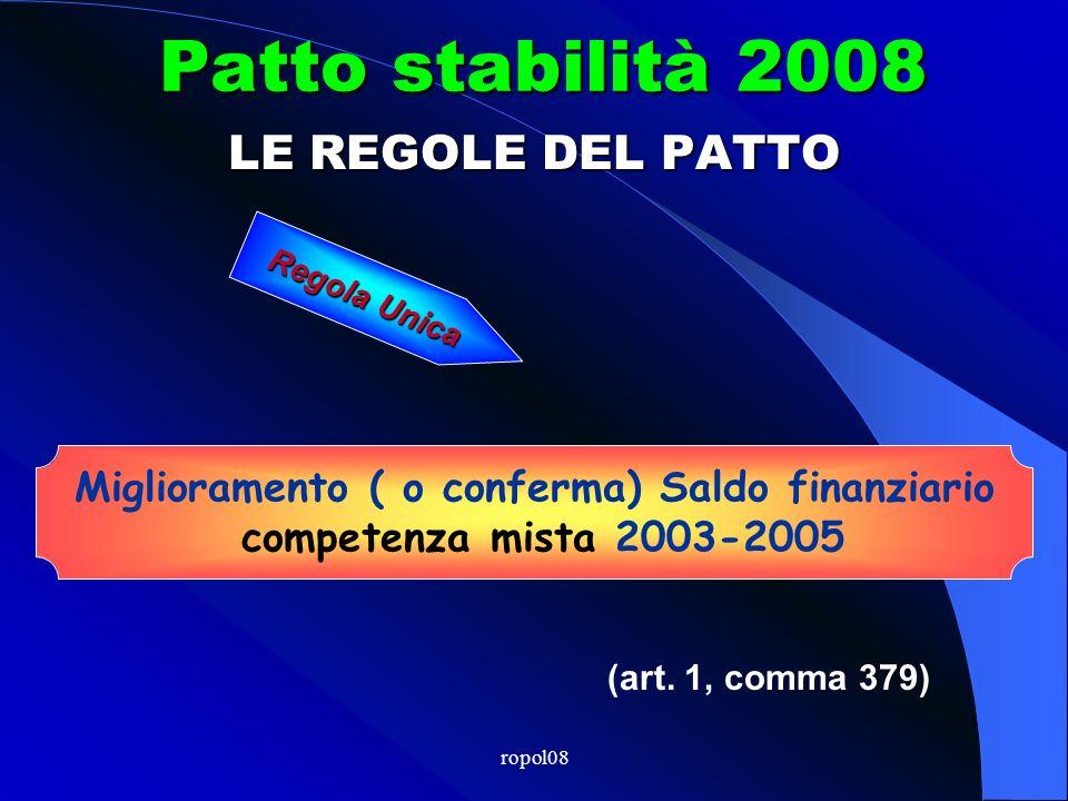 ropol08 FINANZIARIA 2008 Circolare M.E.F. n. 8 del 28.2.08