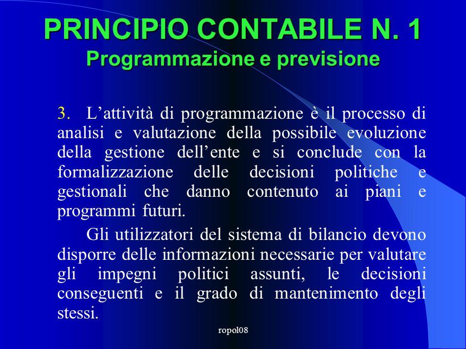 ropol08 COERENZA strumenti urbanistici generali ed esecutivi programma triennale LL.PP.