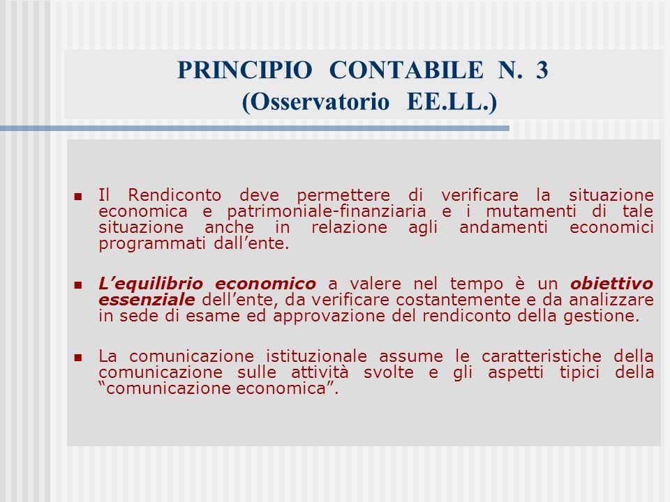 PRINCIPIO CONTABILE N.