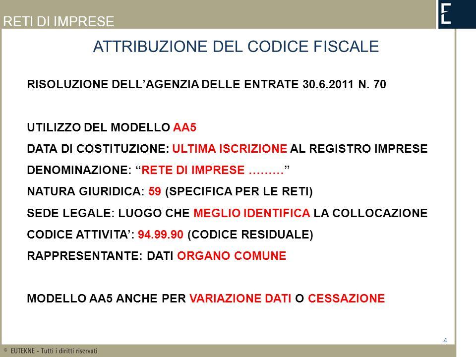 RETI DI IMPRESE ART.42 CO.