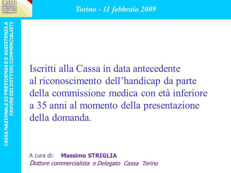 b) pensionati della Cassa attivi e non, genitori di figli portatori di handicap o malattie invalidanti.