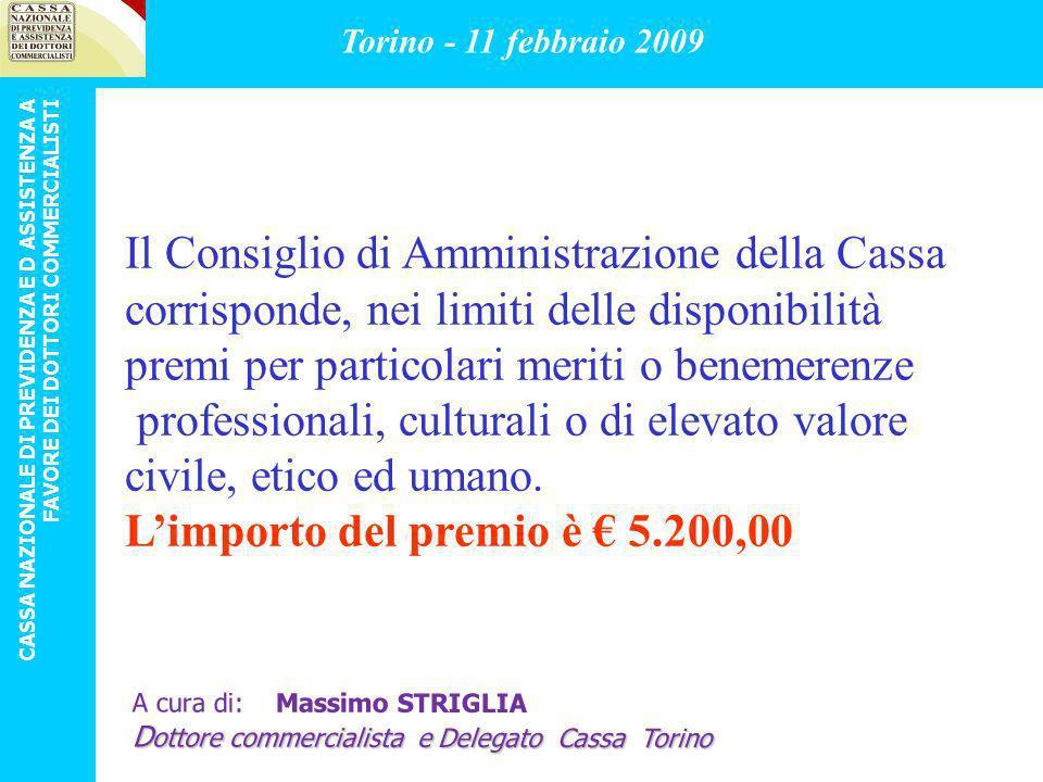 LINDENNITA DI MATERNITA Ai dottori commercialisti di sesso femminile, iscritte alla Cassa.