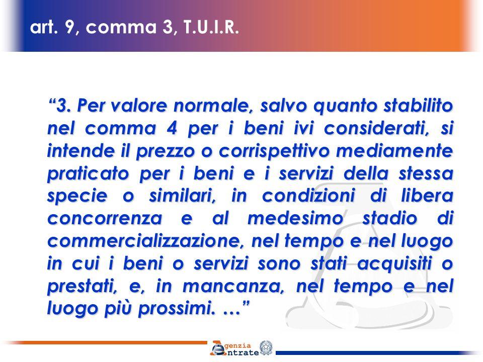 art.9, comma 3, T.U.I.R.