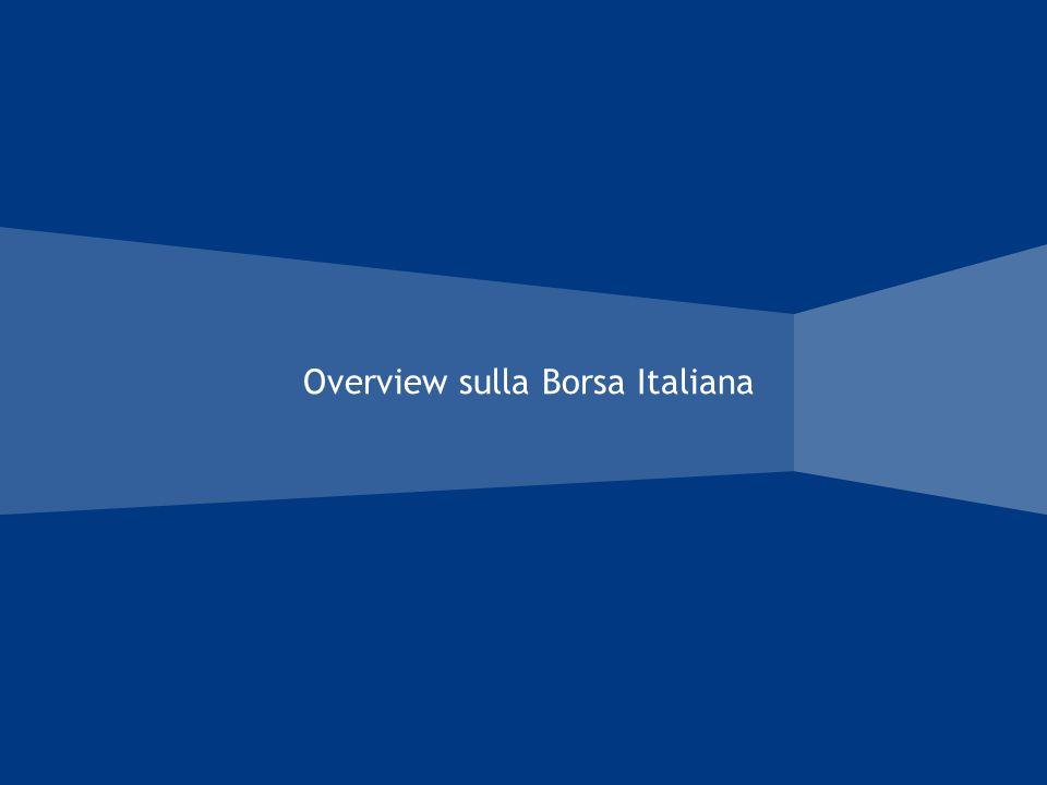 Overview sulla Borsa Italiana
