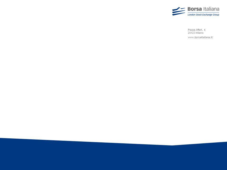 47 Incontri pre-IPO con gli investitori istituzionali Tre volte allanno Borsa Italiana agevola lincontro tra alcune società prossime alla quotazione e