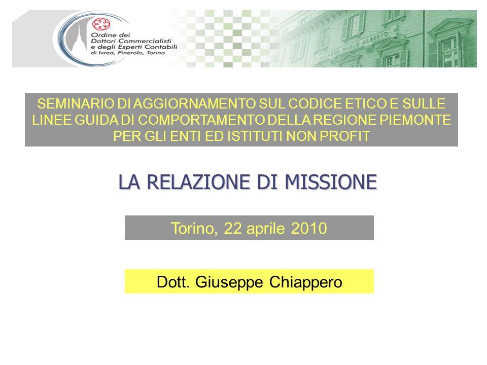 Torino, 22 aprile 2010 SEMINARIO DI AGGIORNAMENTO SUL CODICE ETICO E SULLE LINEE GUIDA DI COMPORTAMENTO DELLA REGIONE PIEMONTE PER GLI ENTI ED ISTITUT