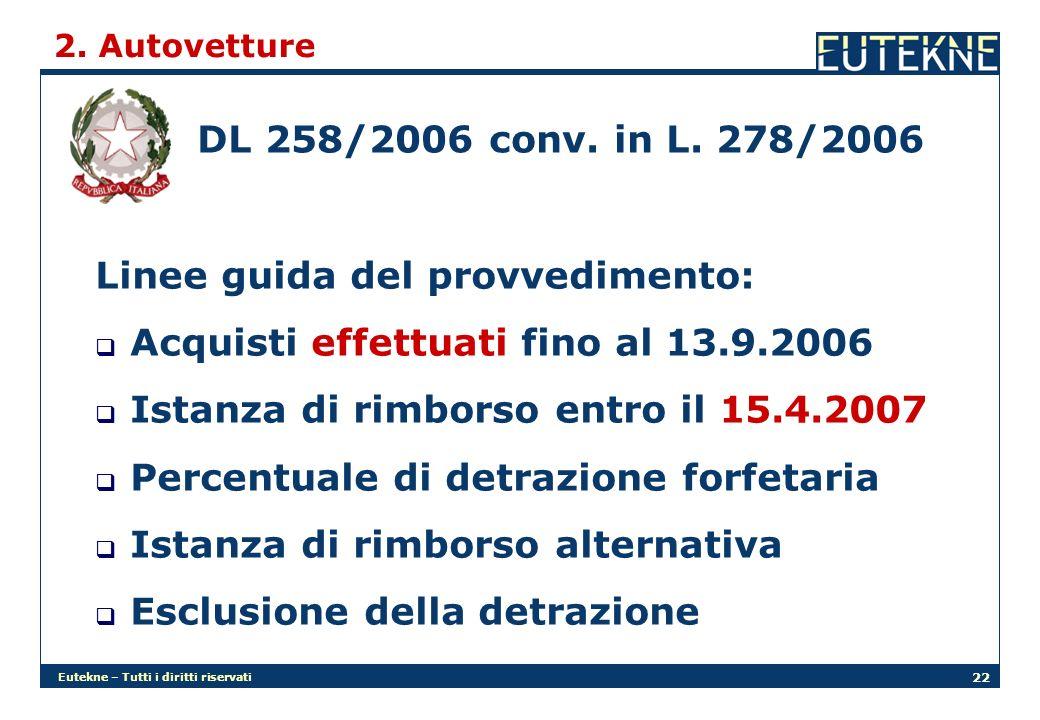 Eutekne – Tutti i diritti riservati 22 2.