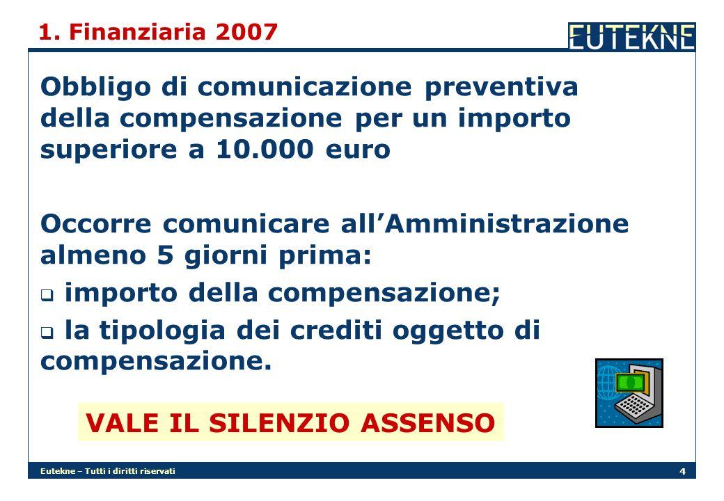 Eutekne – Tutti i diritti riservati 25 2.Autovetture Lo Stato italiano intende avvalersi dellart.
