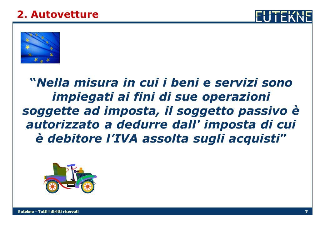 Eutekne – Tutti i diritti riservati 18 2.Autovetture Il co.