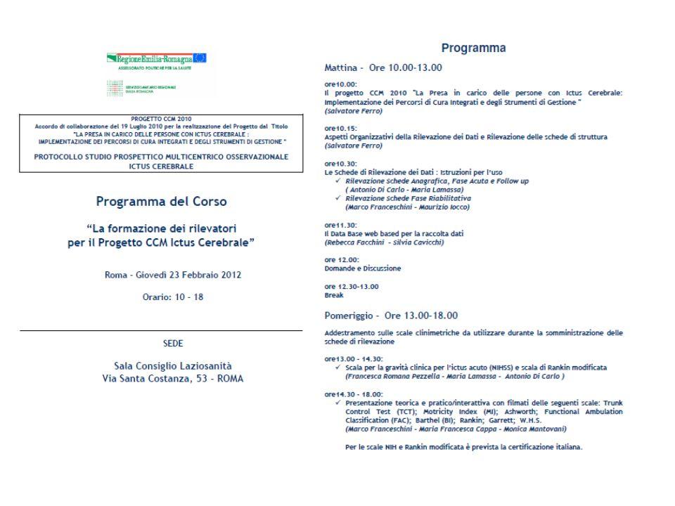 Programma corso di formazione