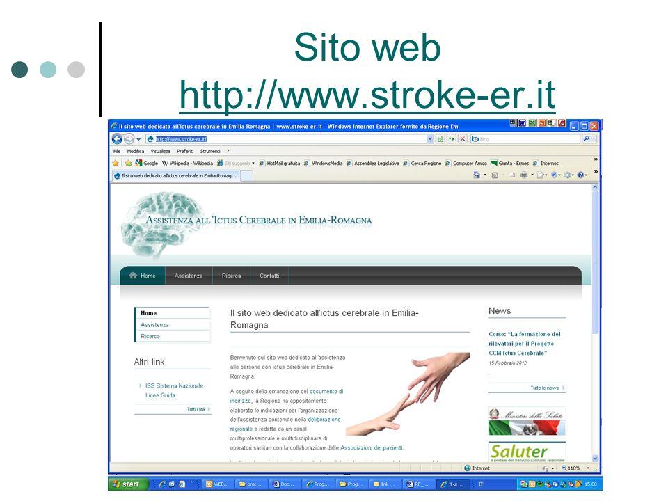 Sito web http://www.stroke-er.it http://www.stroke-er.it