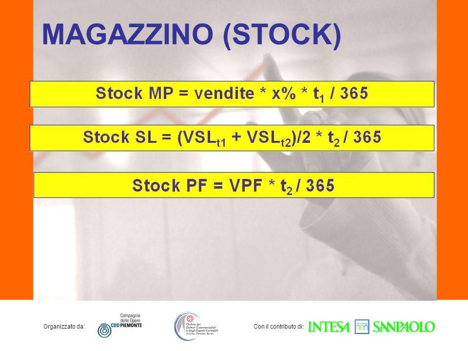 Organizzato da:Con il contributo di: MAGAZZINO (STOCK)