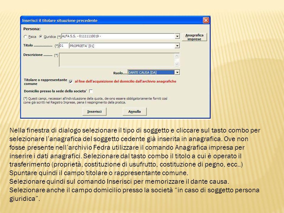 Errori frequenti e suggerimenti in caso di pegno e usufrutto Nel caso di dazione in pegno della partecipazione (art.