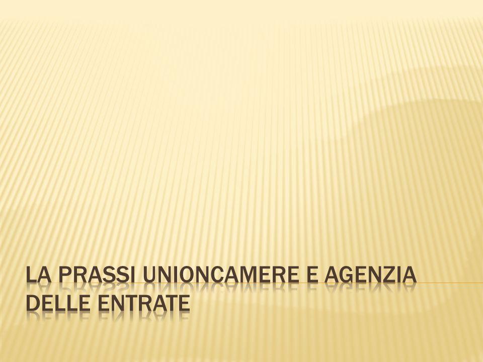 Circolare Unioncamere Prot.