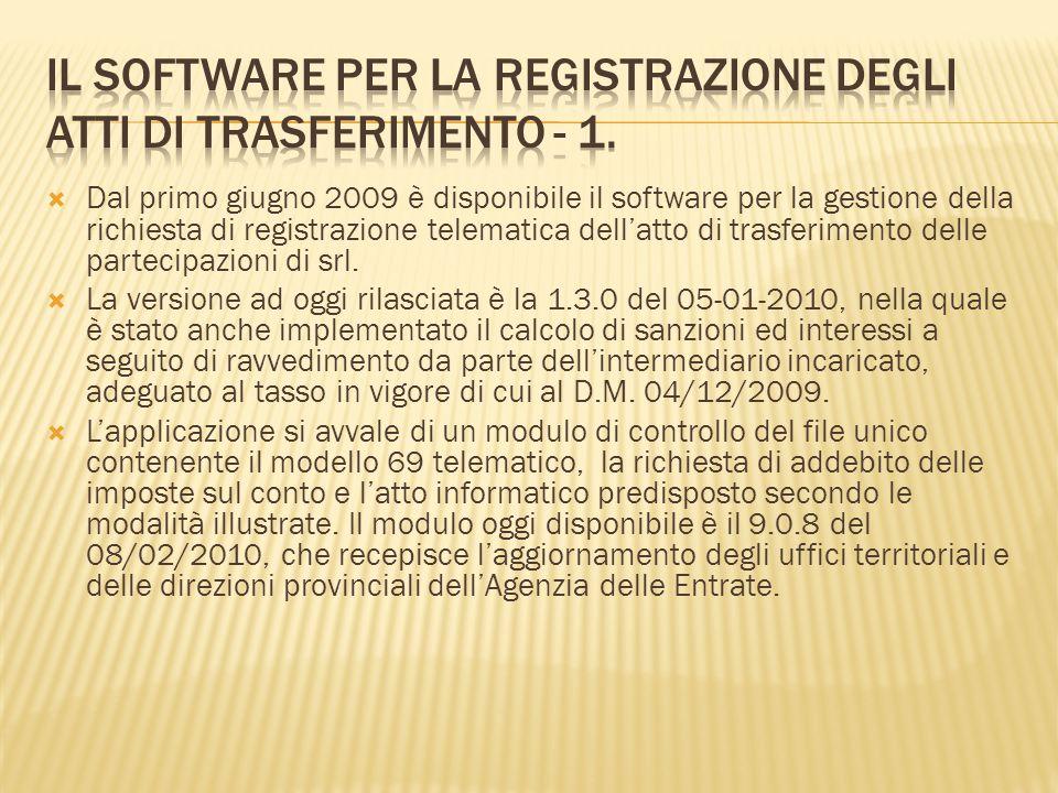 Per linoltro del file occorre avere installato sulla postazione informatica utilizzata la versione del software Entratel 4.6.4 o successive.