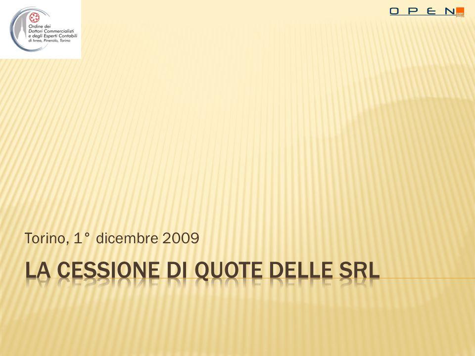 Torino, 1° dicembre 2009