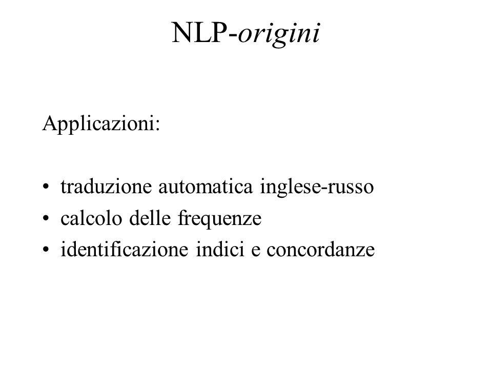 Rappresentazione del significato Schank propose un set di azioni primitive (es.