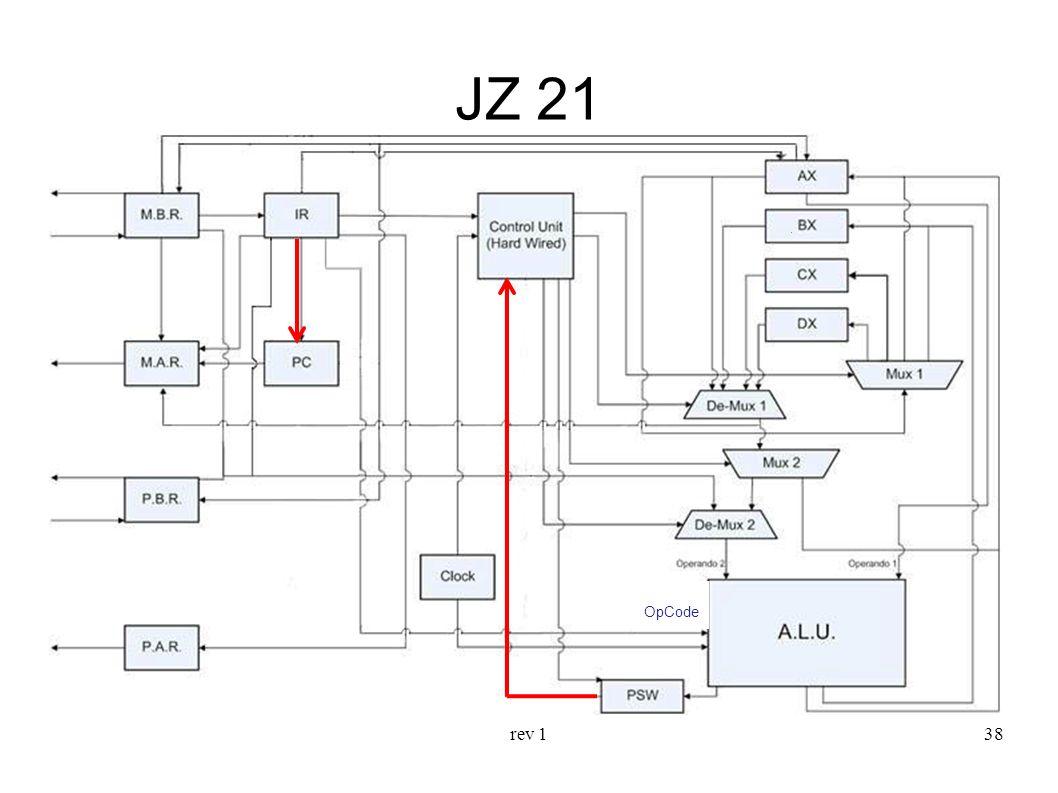 rev 138 JZ 21 OpCode