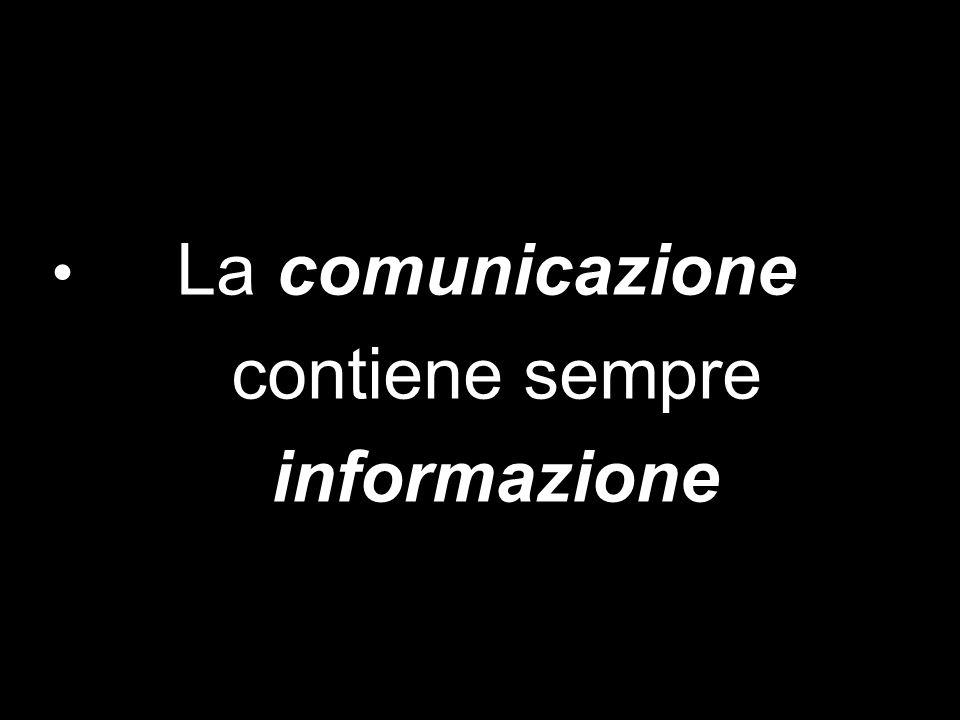 IL PROCESSO COMUNICATIVO La comunicazione è trasferimento di «informazione» e aumento di conoscenza teorica e pratica Comunicare altro non vuol dire che rendere trasmissibile e insieme plausibile una idea, una conoscenza, un evento
