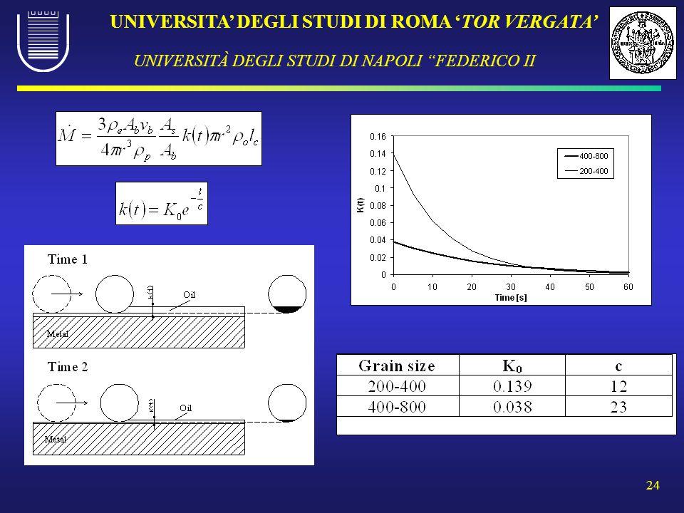 UNIVERSITA DEGLI STUDI DI ROMA TOR VERGATA UNIVERSITÀ DEGLI STUDI DI NAPOLI FEDERICO II 24