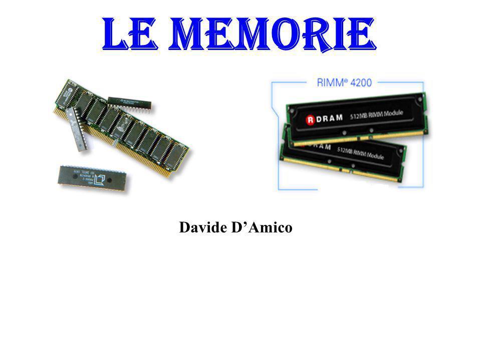 LE MEMORIE Davide DAmico