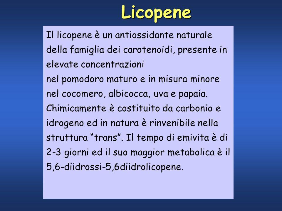 Il licopene è un potente antiossidante naturale della famiglia dei carotenoidi.