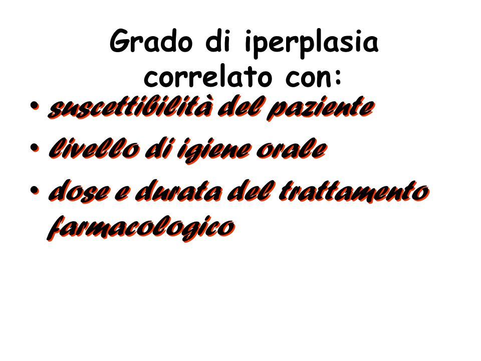 Fibromatosi (elefantiasi) gengivale