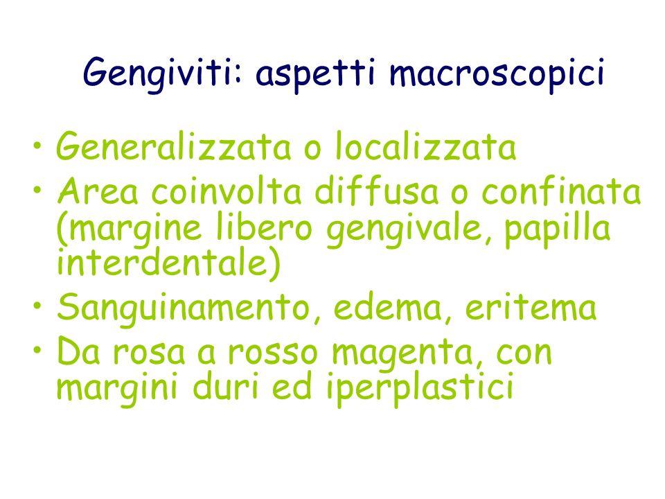 Gengivite da respirazione Gengivite acuta puberale