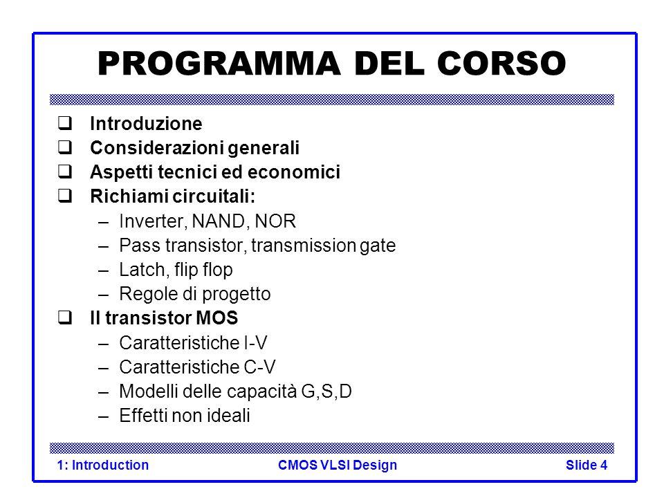 CMOS VLSI Design1: IntroductionSlide 25 CMOS Inverter AY 01 10
