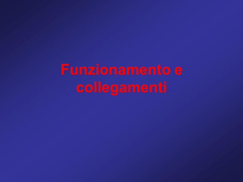 Funzionamento e collegamenti