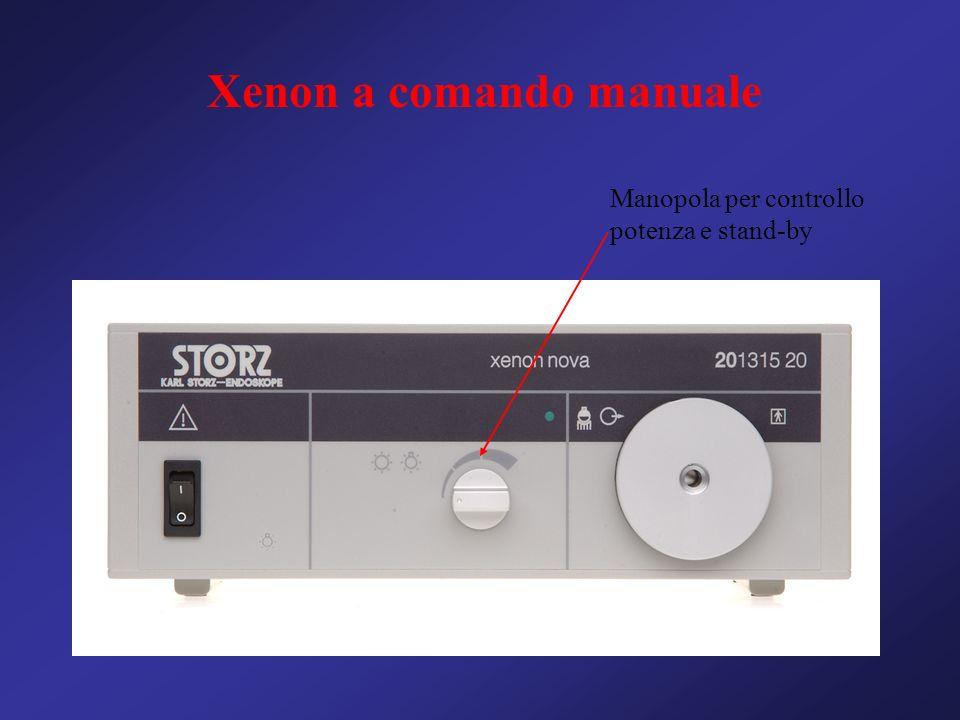 Xenon a comando manuale Manopola per controllo potenza e stand-by
