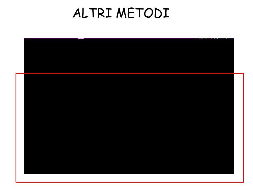 ALTRI METODI