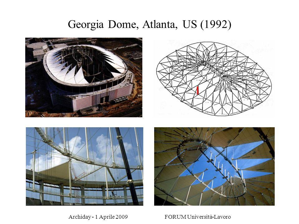 Archiday - 1 Aprile 2009 FORUM Università-Lavoro Georgia Dome, Atlanta, US (1992)