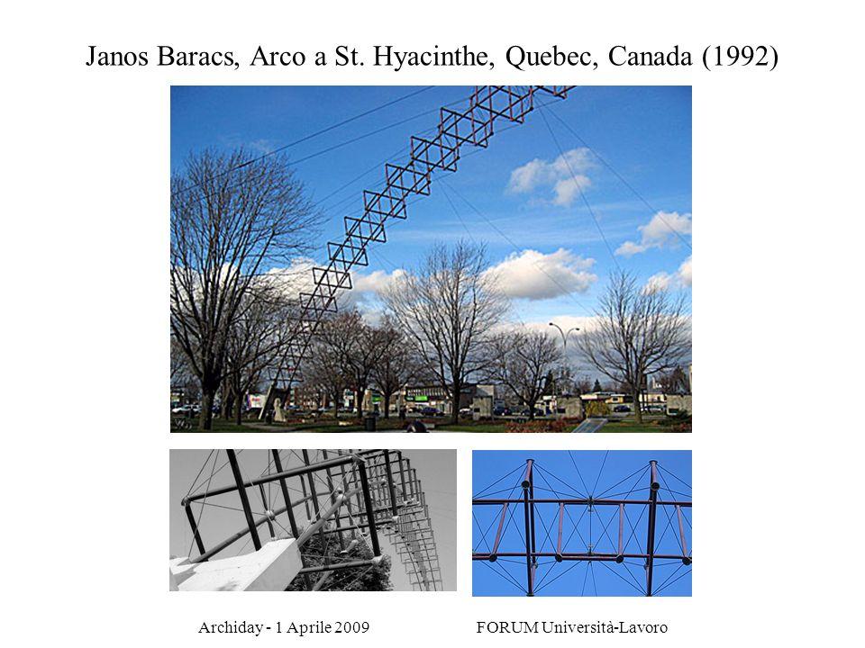 Janos Baracs, Arco a St. Hyacinthe, Quebec, Canada (1992)