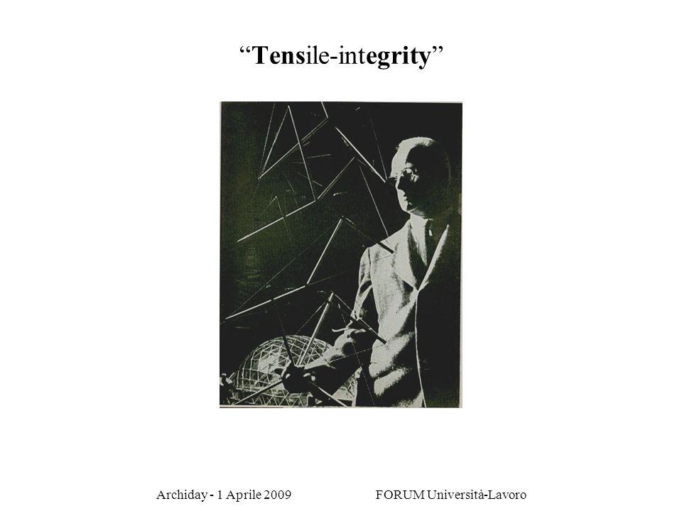 Archiday - 1 Aprile 2009 FORUM Università-Lavoro Tensile-integrity