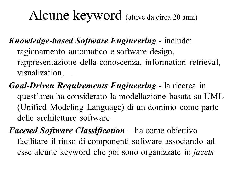 Introduzione A fronte delle attività connesse a tali temi si è diffusa, anche nella pratica, una comune attitudine a modellare i domini in maniera formale o semiformale.
