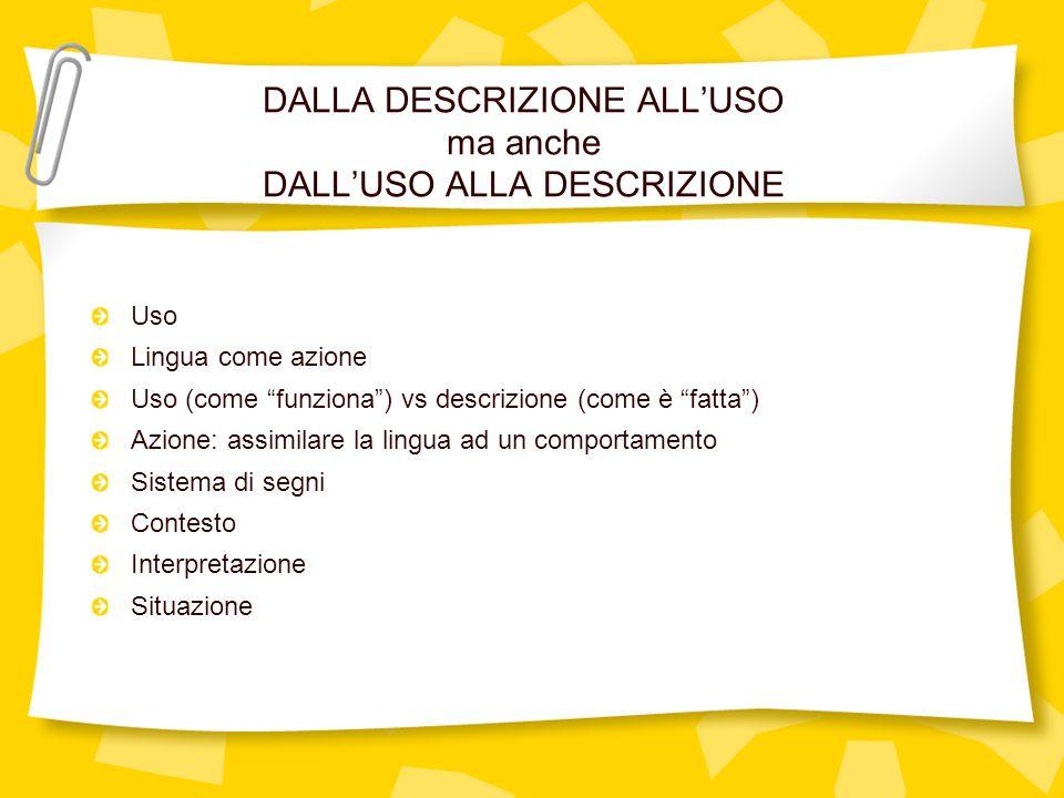 SIGNIFICATO E … SIGNIFICATO Marco: Ciao, sono Marco.
