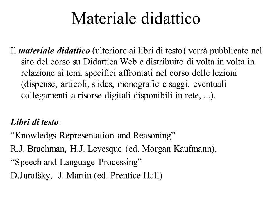 Accessibilità Sistemi di speach recognition consentono ad un utente con problemi nella lettura o nella scrittura di interagire con il computer attraverso un dialogo.