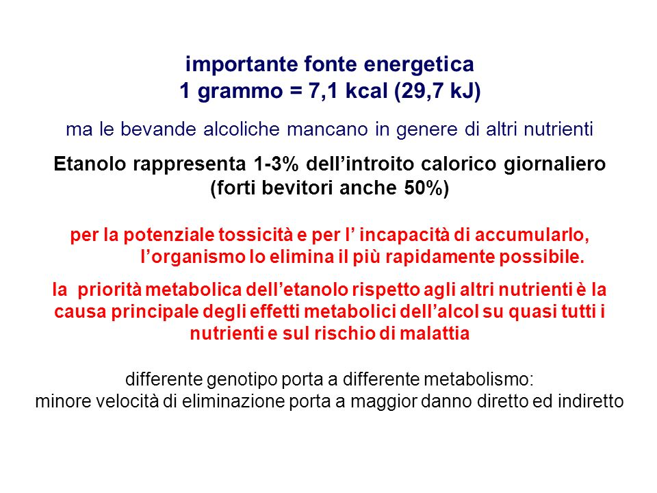 ETANOLO ACETALDEIDE ACIDO ACETICO NAD + NADH + H + NAD + Ac.