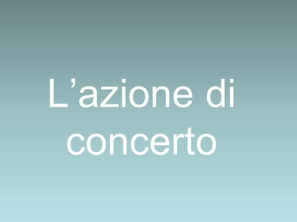 Lazione di concerto
