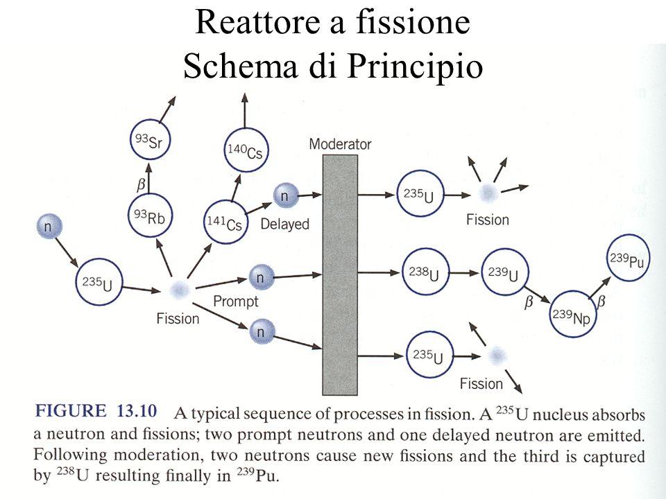 30 Reattore a fissione Schema di Principio
