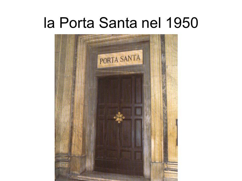 la Porta Santa nel 1950