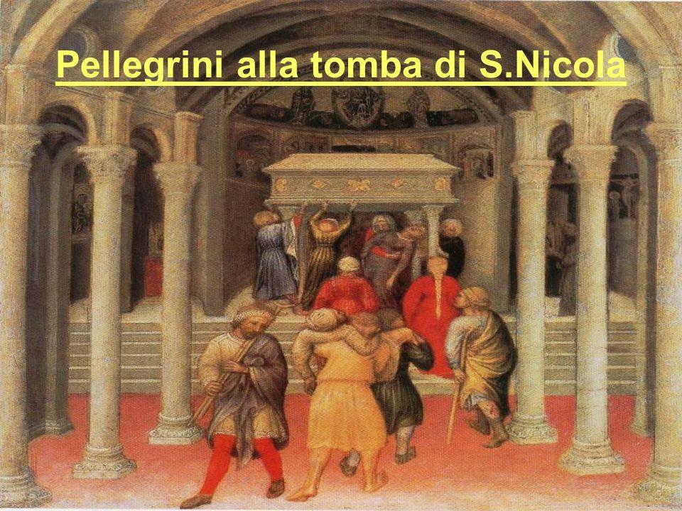 Pellegrini alla tomba di S.Nicola