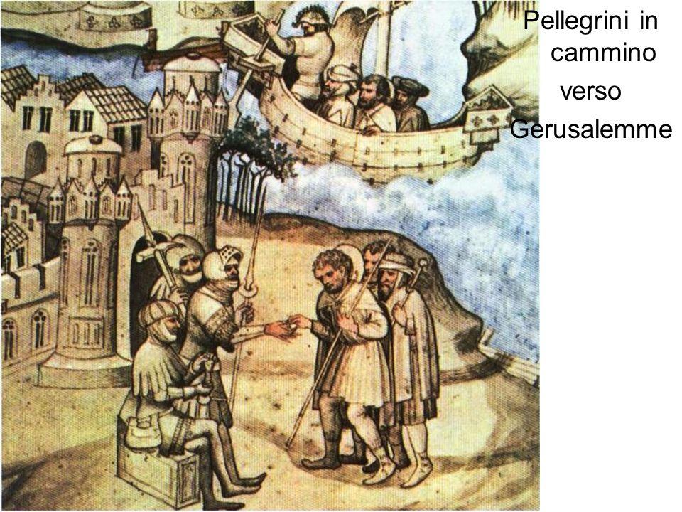 Benedizione dei pellegrini crociati