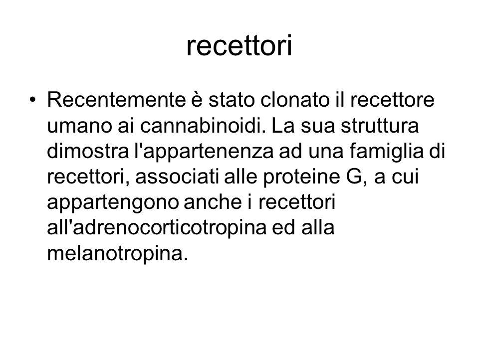 Recettori a proteina G