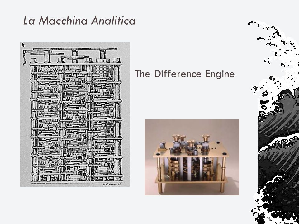 La Macchina Analitica The Difference Engine