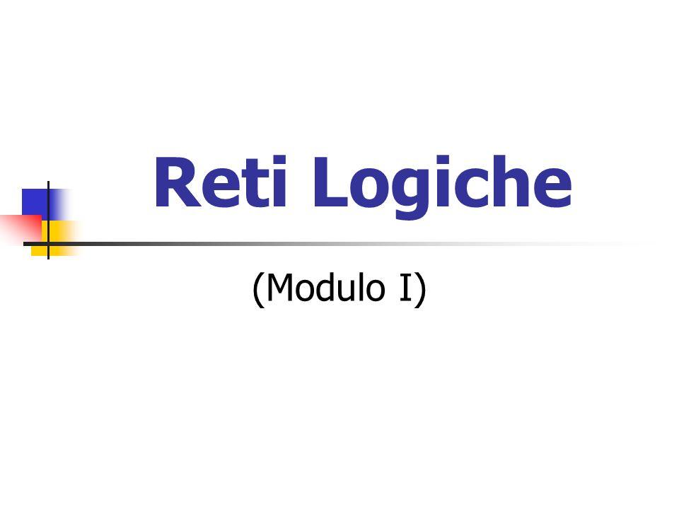 Reti Logiche (Modulo I)