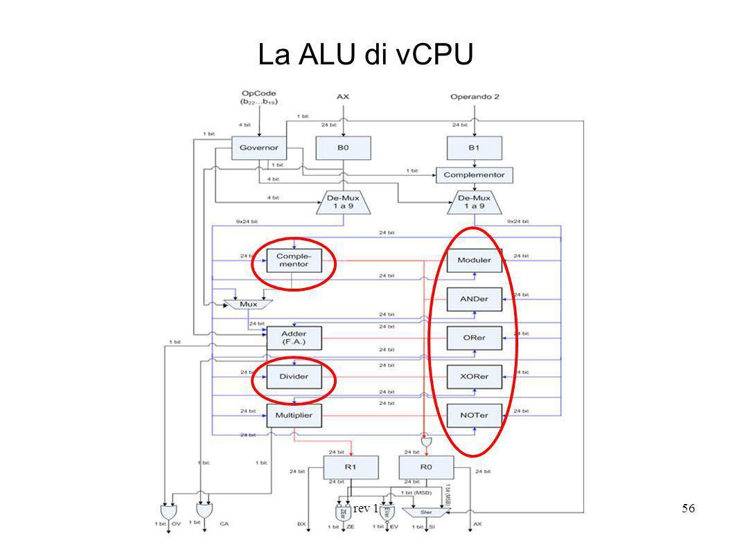rev 156 La ALU di vCPU