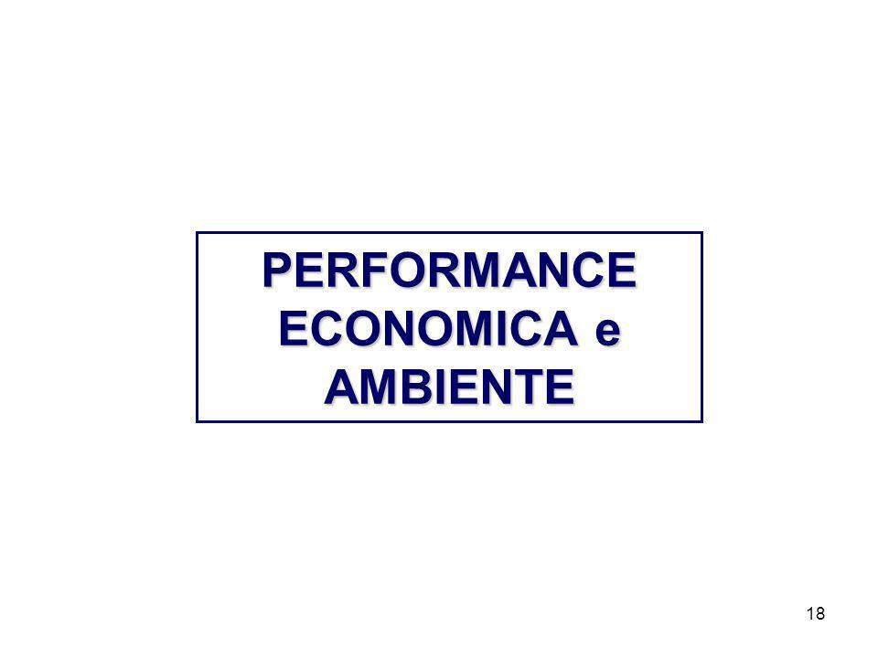 18 PERFORMANCE ECONOMICA e AMBIENTE